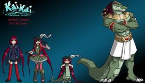 KaiKai: Arieru/Sobek, All Forms