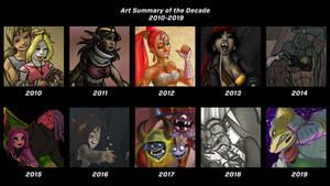 Decade Art Summary 2010-2019