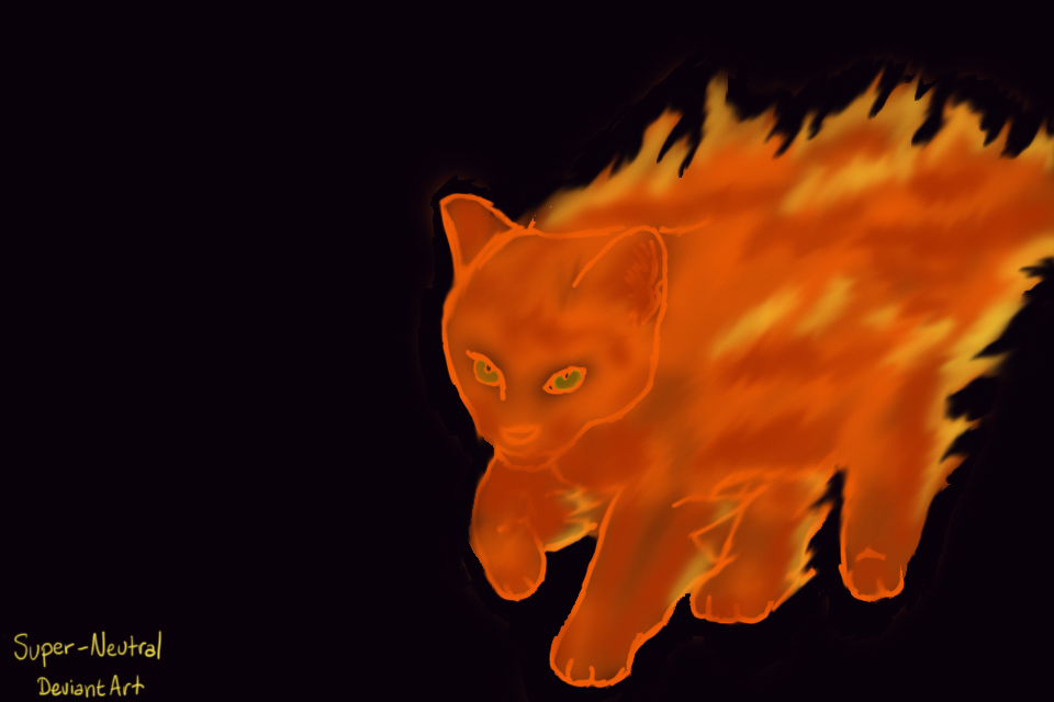 Flame Cat by Super-Neutral