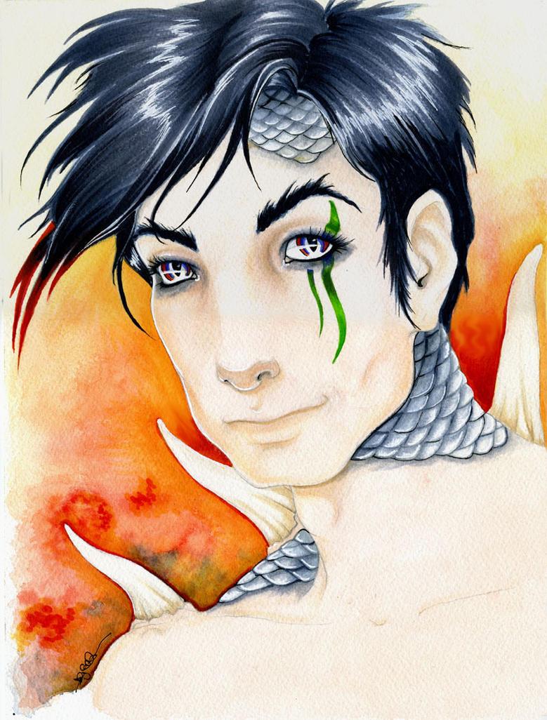 Dragonborne Male by mugmoni