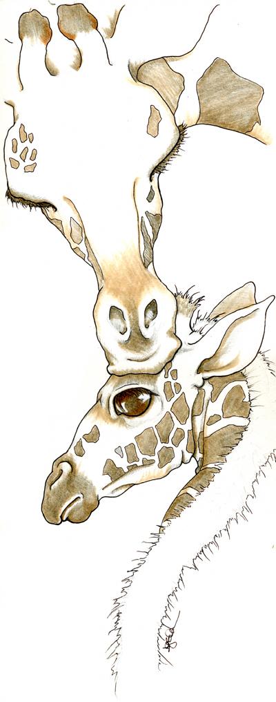 Giraffe by mugmoni