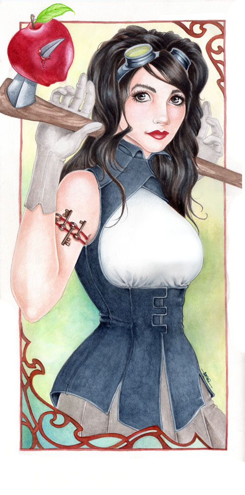 Snow White by mugmoni
