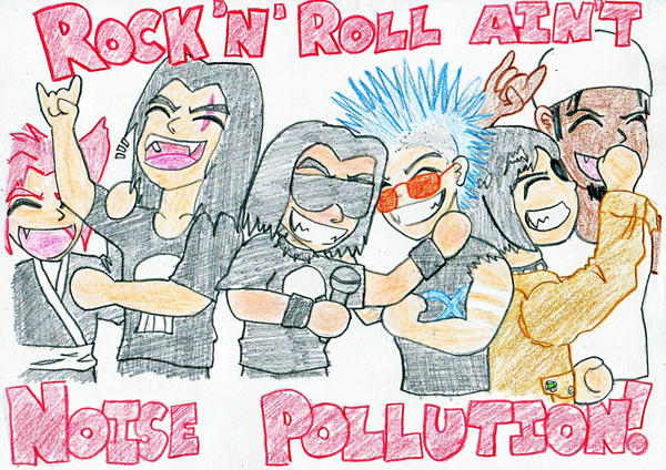Ain't Noise Pollution by The-Great-Stash on DeviantArt
