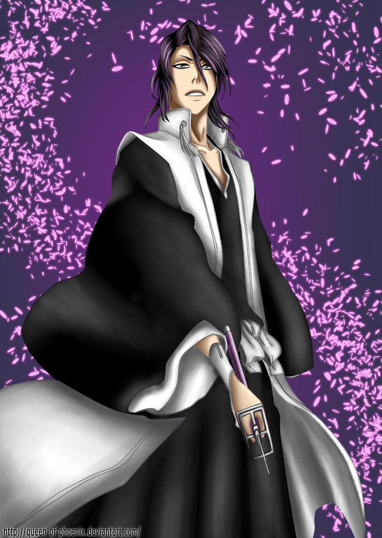 Bleach 464 -  Kuchiki Byakuya by Queen-of-Phoenix