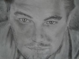 Leonardo DiCaprio Actor Portrait drawing 01