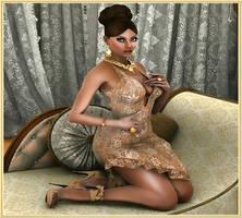 Pamela 3D girl arts and Glamour