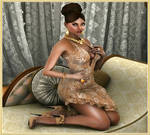 Pamela 3D girl arts and Glamour