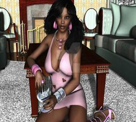 Sims 4 African Black girl