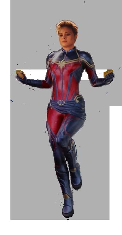 Avengers Endgame Captain Marvel Short Hair By Thisguymike On Deviantart