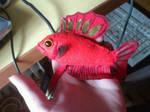 Betta HMPK super red plushie