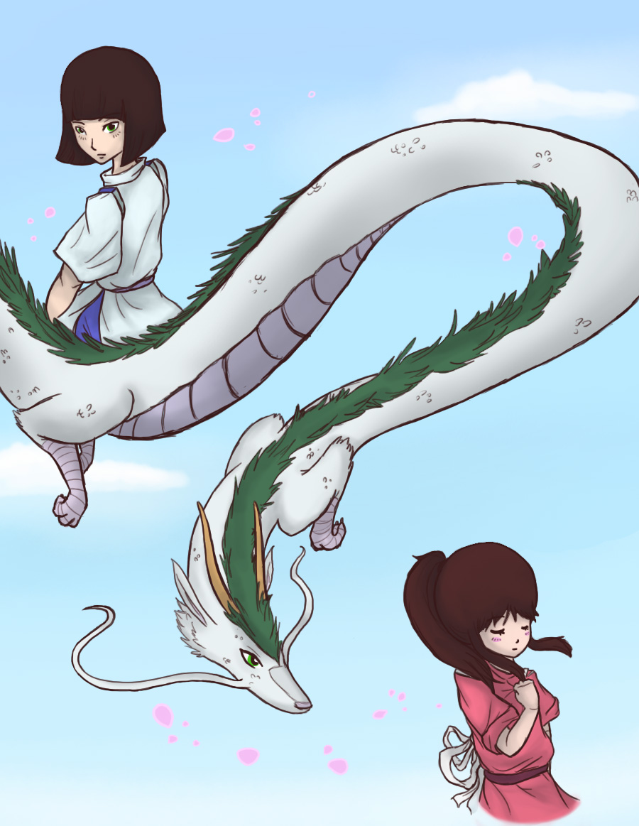 Spirited Away by StrawberrieCandie