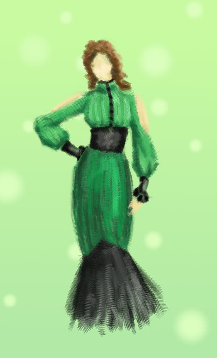 Green elegance by janora00