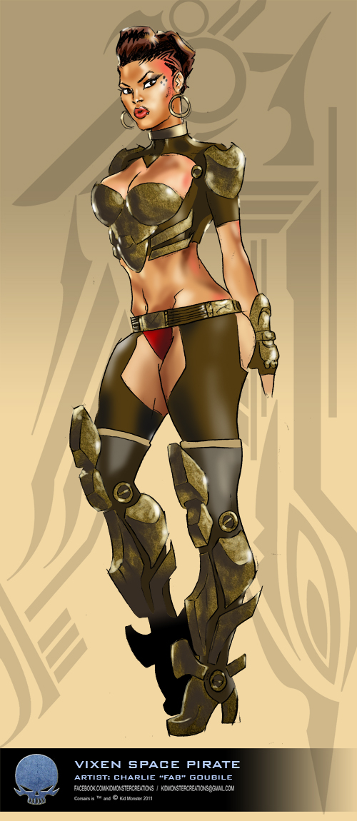 CORSAIRS VIXEN PIRATE by charlie-fab