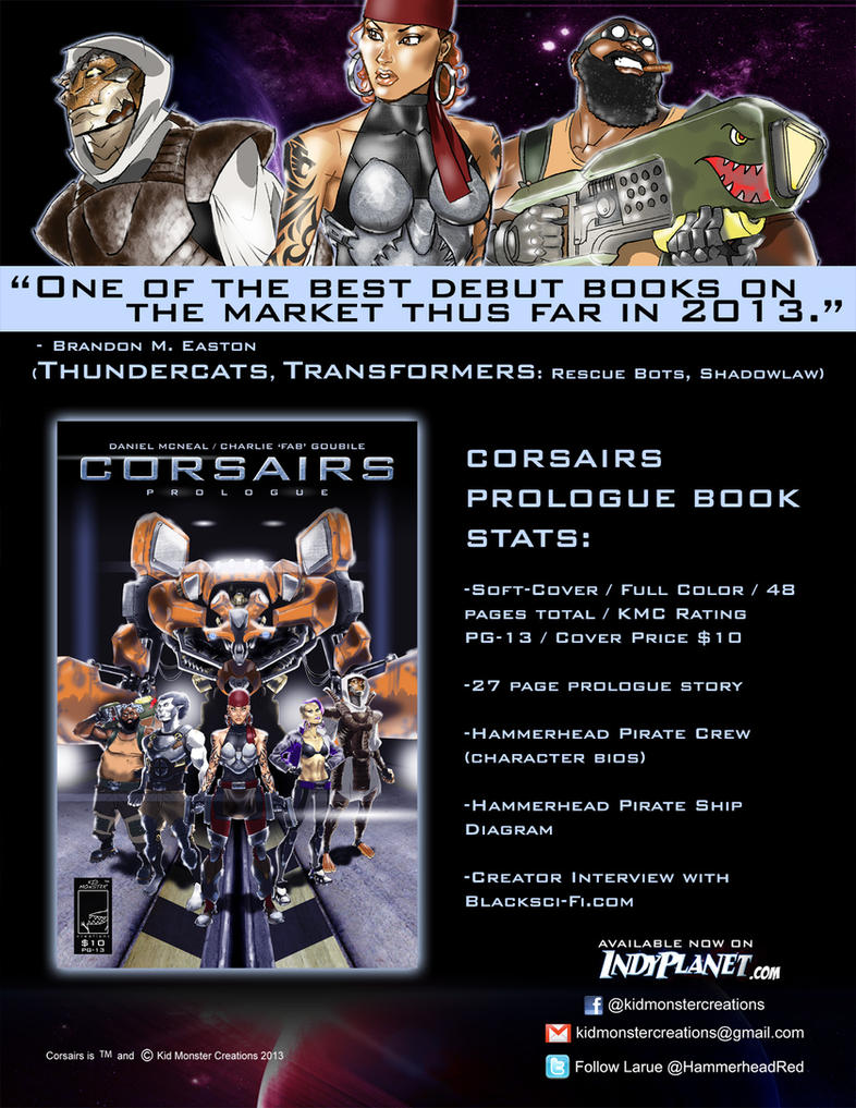CORSAIRS: PROLOGUE OUT NOW!!! by charlie-fab