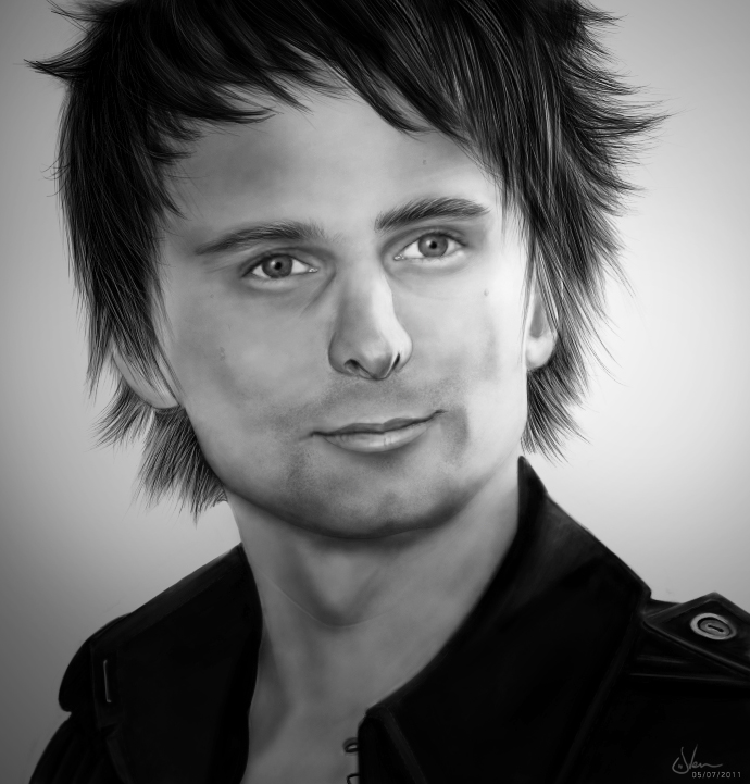 +++ Matthew Bellamy +++ by sven-werren
