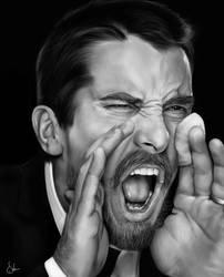 + Christian Bale + by sven-werren