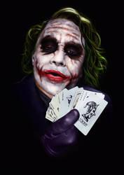 + Joker - The Dark Knight + by sven-werren