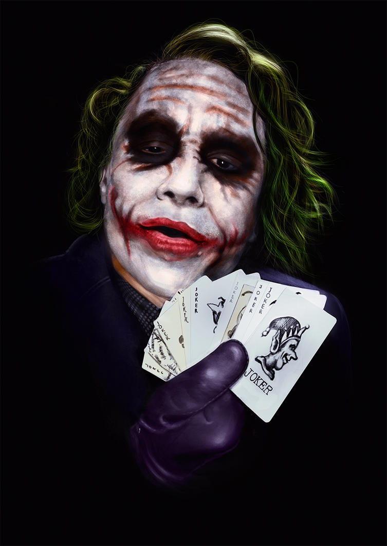 + Joker - The Dark Knight + by sven-werren