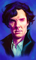 Sherlock - Benedict Cumberbatch by sven-werren