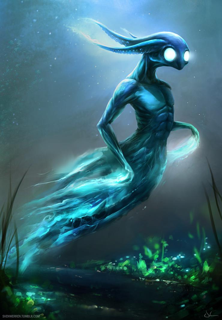 Ghost Octopus By Sven Werren On Deviantart