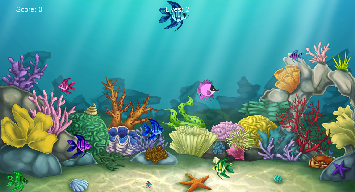 Hungry fish game by alkaline00 on deviantart for Game and fish