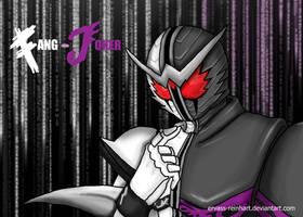 Kamen Rider W Fang Joker by Ervass-Reinhart