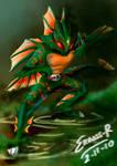 Kamen Rider Amazon Colored