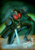 Kamen Rider Black RX by Ervass-Reinhart