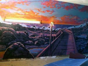 Nursing home mural
