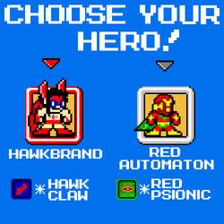 Choose Your Hero! by Kistulot