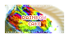 Rainbow cake by loupdenuit