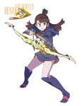 Render#16 - Little Witch Academia