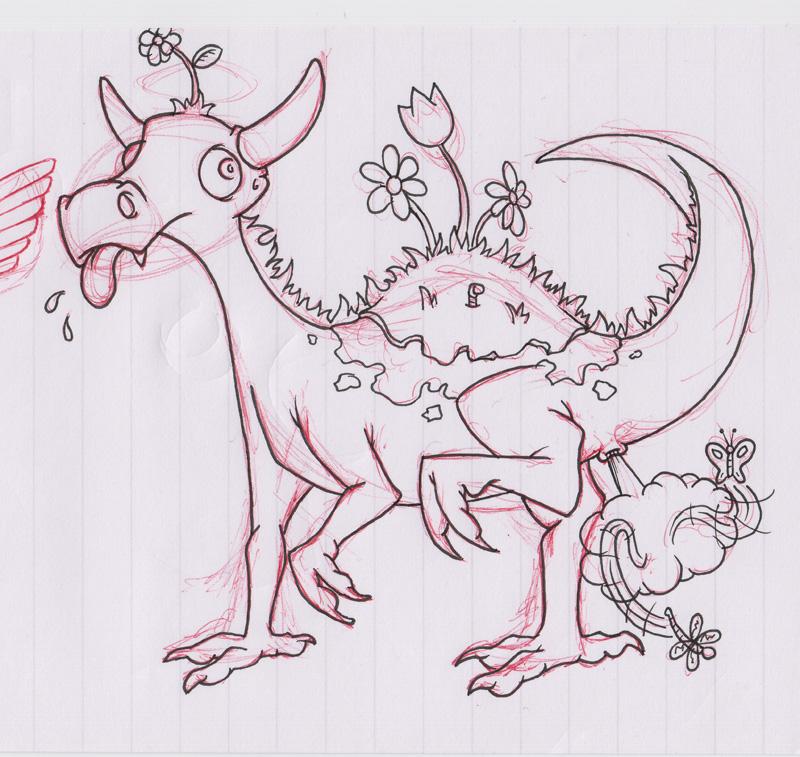 C.O.W. #136 Beatific Dragon with Breath Weapon! --WIPs Posting Thread