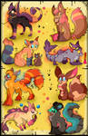 8 FREE creature adoptables CLOSED