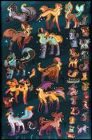 37 FREE creature adoptables CLOSED