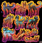 13 FREE creature adoptables CLOSED