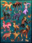 21 FREE creature adoptables CLOSED
