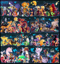 Cartoonatics cast 2014 by Roxalew