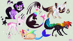 OTA Adoptables - OPEN by Roxalew