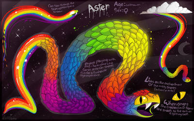 Rainbow Serpent by Roxalew