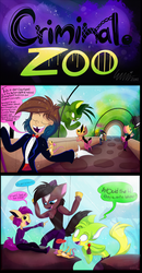 Concept- Criminal Zoo by Roxalew