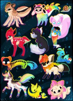 FREE creature adoptables 2020 - OPEN