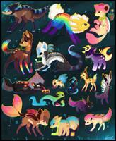 16 FREE Creature Adoptables - OPEN