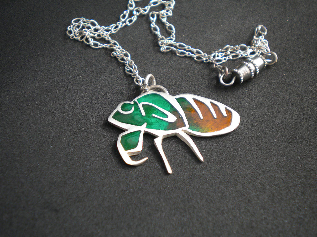 Cicada by JeweledScarab