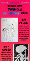 Inking and Colouring Tutorial