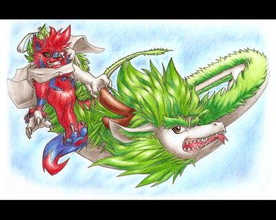 O Lobo e o Dragao II by ORO8ORO
