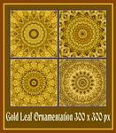 Gold leaf deco 01