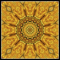 Gold leaf deco 02 600px by UnheiligeMarie