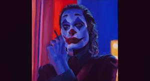Joker  - Oil Painting