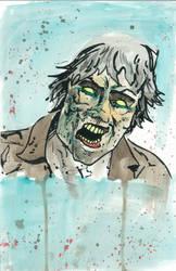 Walking Dead Zombie by xEDG3x